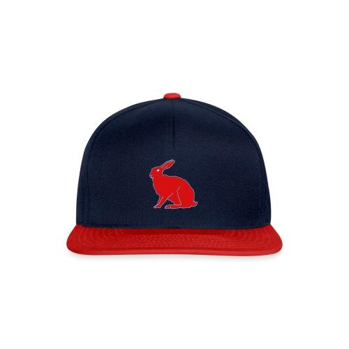Roter Hase - Snapback Cap