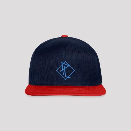 PL turned square blue png - Snapback Cap