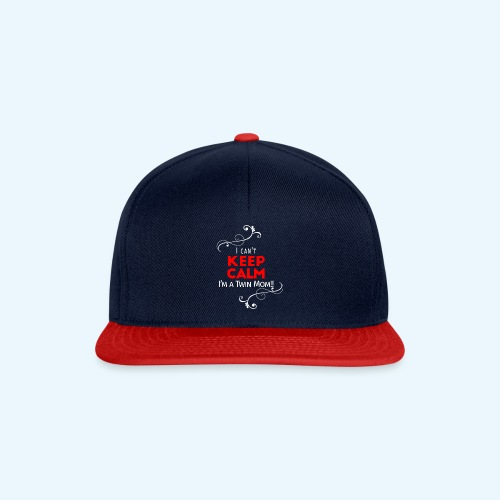 I Can't Keep Calm (voor donkere stof) - Snapback cap