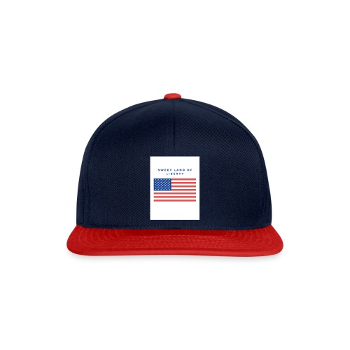 drapeau usa - Casquette snapback