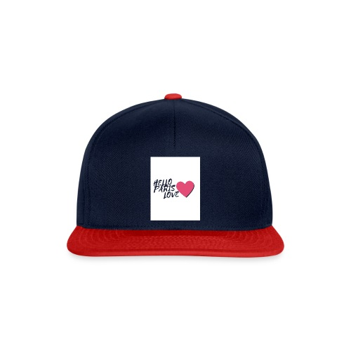 hello paris love 2 - Casquette snapback