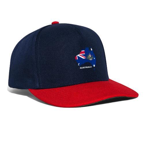 Australien Australia Kontinent Insel Urlaub - Snapback Cap