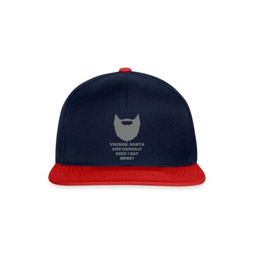 Viking Santa Gandalf - Snapback cap