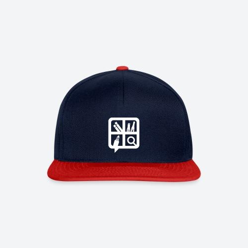 Glifo Svapo Bianco - Snapback Cap