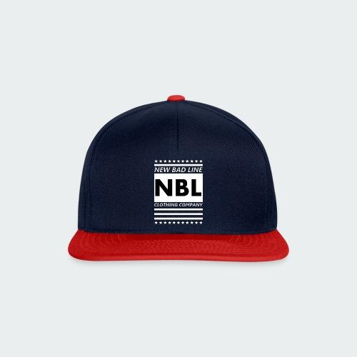 Męska Koszulka Premium New Bad Line - Czapka typu snapback