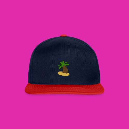 palm tree design - Snapback Cap