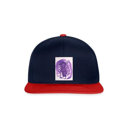 Lila Monster - Snapback Cap