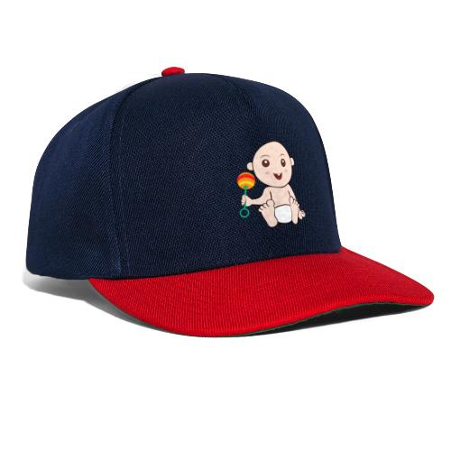 Glückliches Baby - Snapback Cap