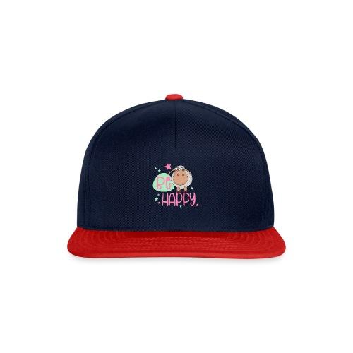 Be happy Schaf - Glückliches Schaf - Glücksschaf - Snapback Cap