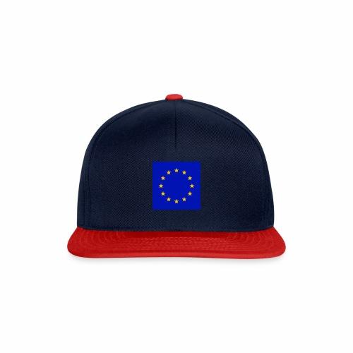 TRUE EU BLUE - Snapback Cap