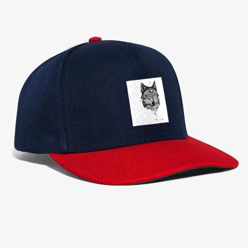 Wolf Grafik - Snapback Cap