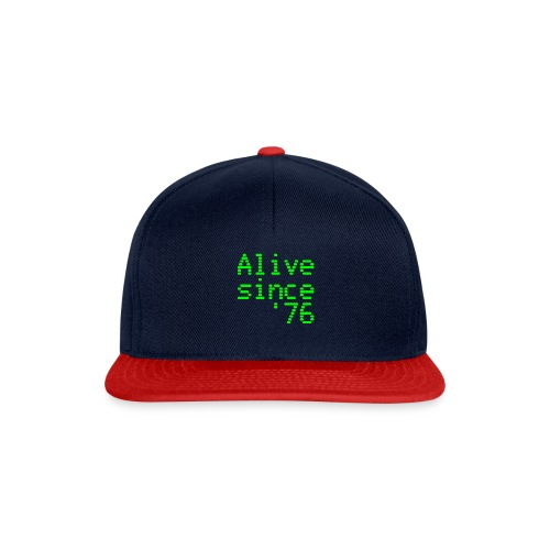 Alive since '76. 40th birthday shirt - Snapback Cap