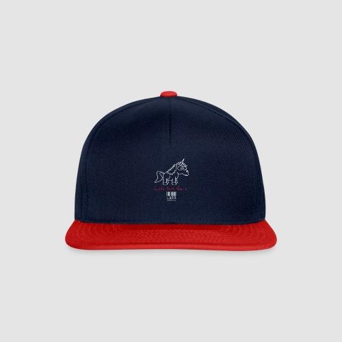 lurr unicorn - Snapback Cap