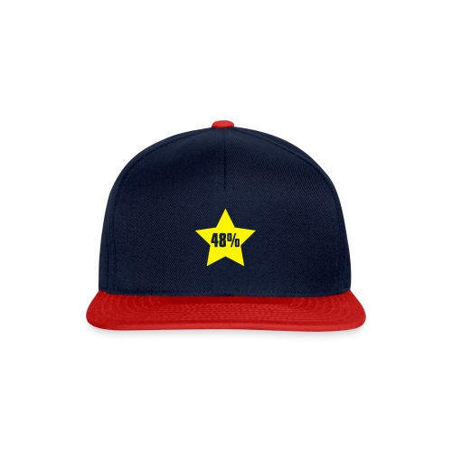 48% in Star - Snapback Cap