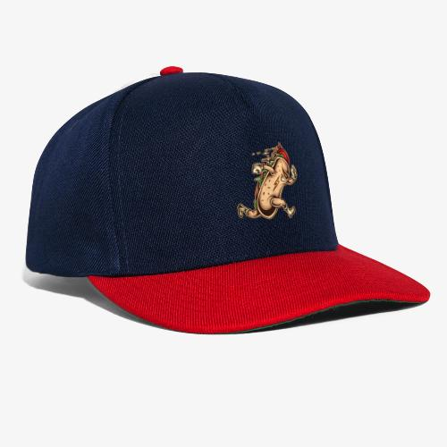 Hot Dog-Held - Snapback Cap