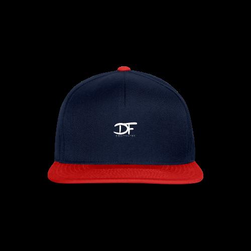 Dropfayter logo in WIT - Snapback cap