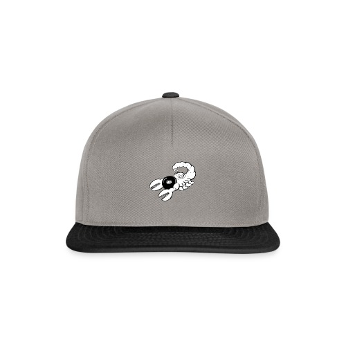 Space Scorpions?! (Black and White) - Snapback Cap