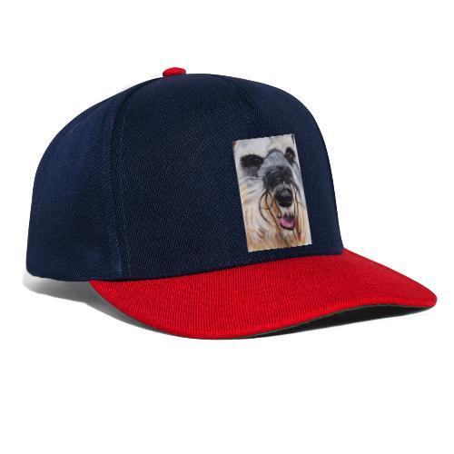 schnauzer - Snapback Cap