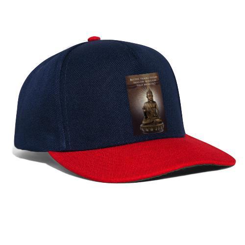 Buddha Wisdom - Snapback Cap