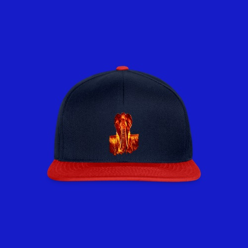 Fire elephant 🔥 🐘 - Snapback Cap