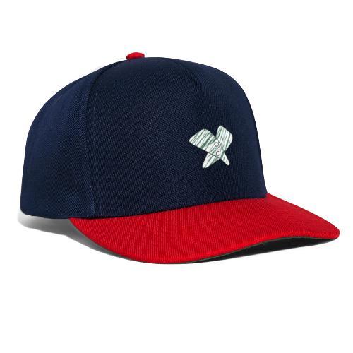 lettera X verde - Snapback Cap