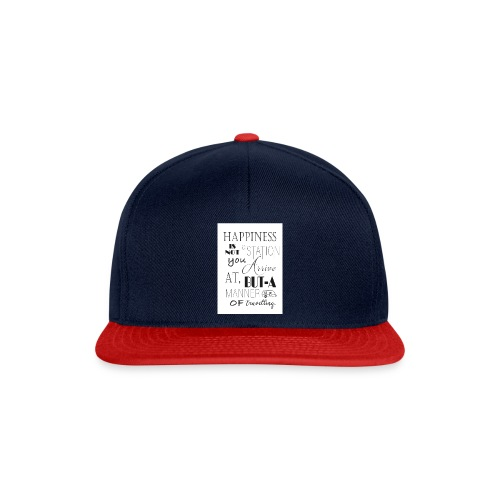 Travel Happy - Snapback Cap