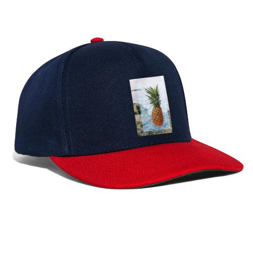 Alone wit pineapple - Snapback Cap