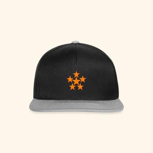 5 STAR orange - Snapback Cap