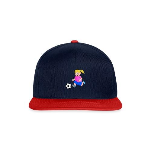 Fußball Mädchen - Snapback Cap