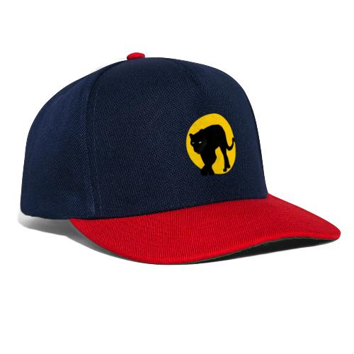 panthere lune - Casquette snapback