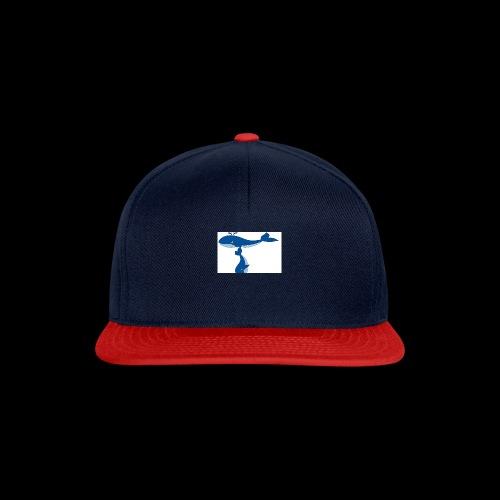whale t - Snapback Cap
