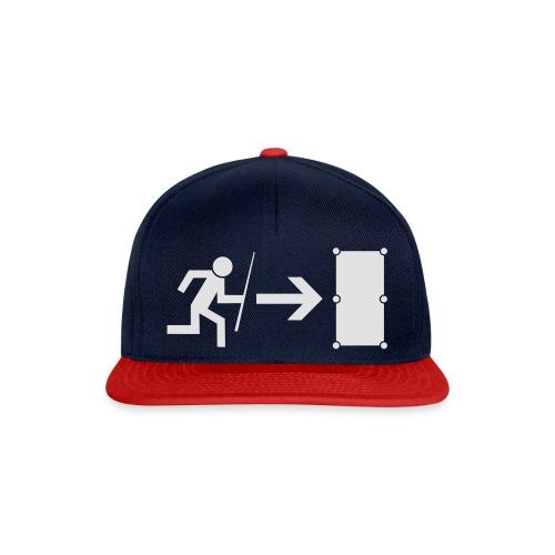 Emergency Exit Billard - Snapback Cap
