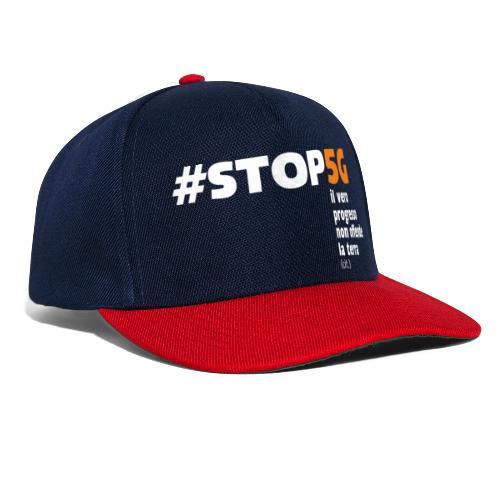 Linea Stop5G con frase - Snapback Cap