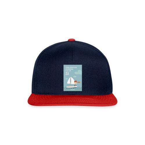 Camiseta Toda Aventura de Wanaleads - Gorra Snapback