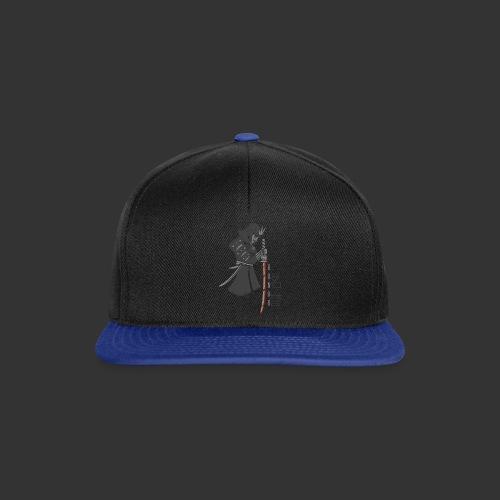 Samurai Digital Print - Snapback Cap