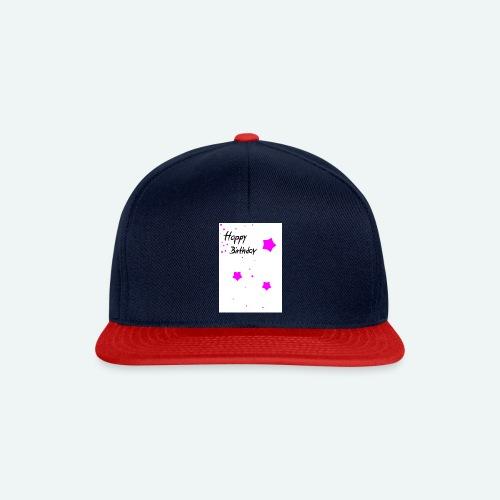 happybirthday - Snapback Cap