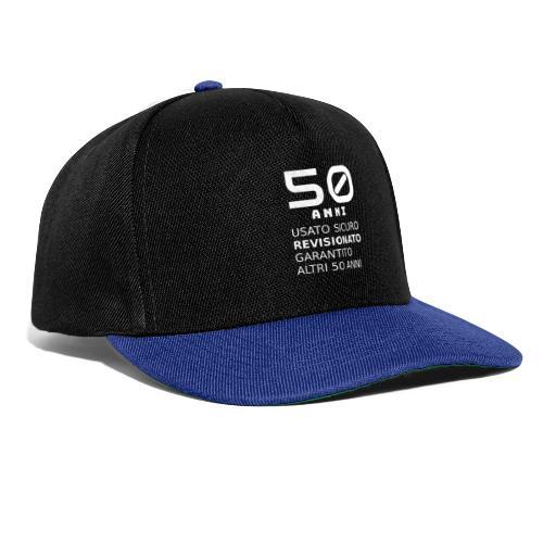 50 anni usato sicuro - Snapback Cap