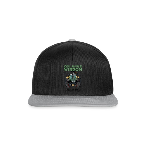 0163 oldmanswisdom F 307ls - Snapback cap