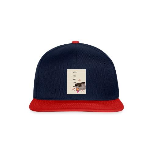 Keep fun and love me - Snapback Cap