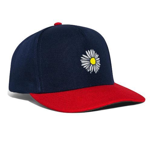 Gänseblümchen zweifarbig - Snapback Cap