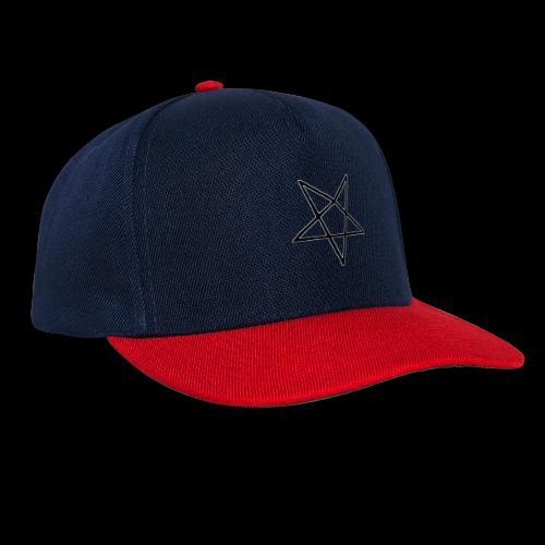 Pentagram4 png - Snapback Cap