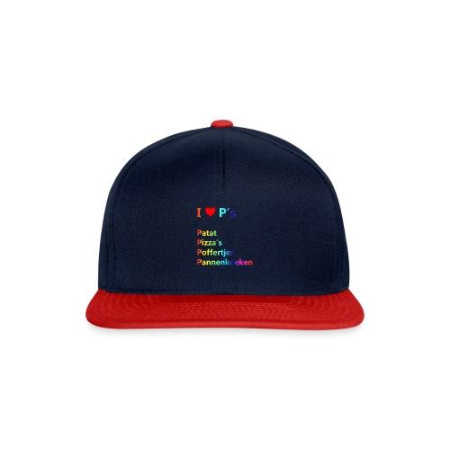 Ik hou van P kindershirt - Snapback cap