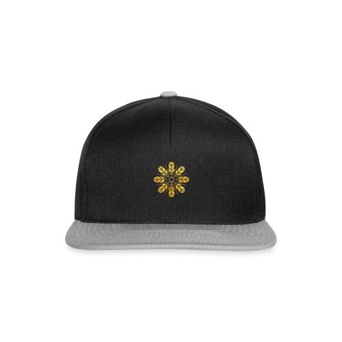 Inoue clan kamon in gold - Snapback Cap