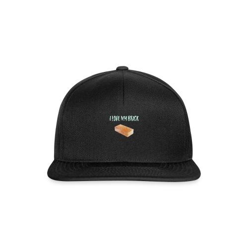 I love my brick - Snapback Cap