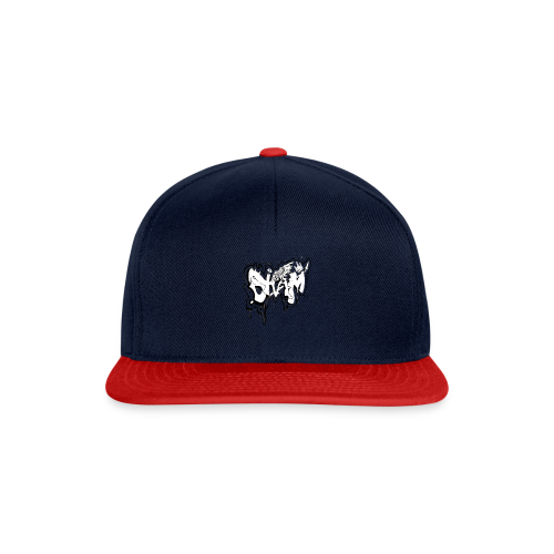 SHAM Official Graffiti Hoodie Black - Snapback Cap