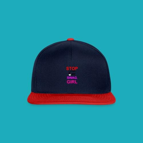 My Swag Stop Looking, Girl - Snapback Cap