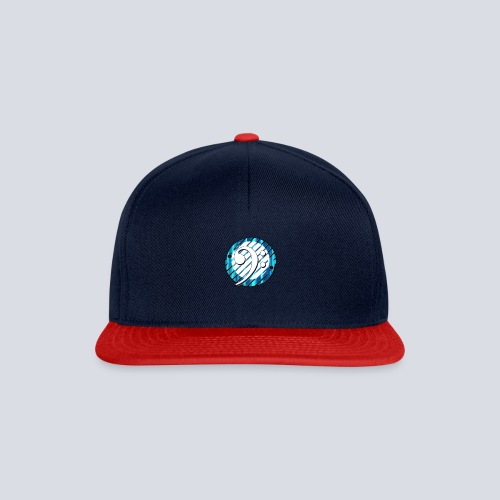 BassClef blue/white - Snapback Cap