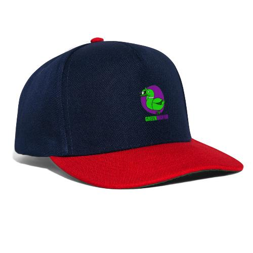 Greenduck Film Purple Sun Logo - Snapback Cap