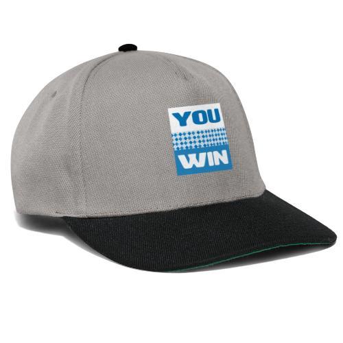 you win 21 - Snapback Cap