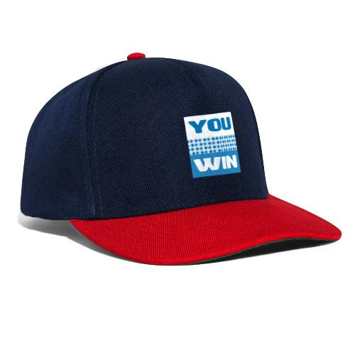 you win 21 - Snapback Cap